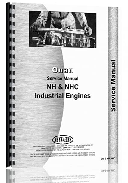 amazon com onan engine service manual on s nh nhc home improvement rh amazon com onan engine service manual pdf Onan Engine Model Numbers