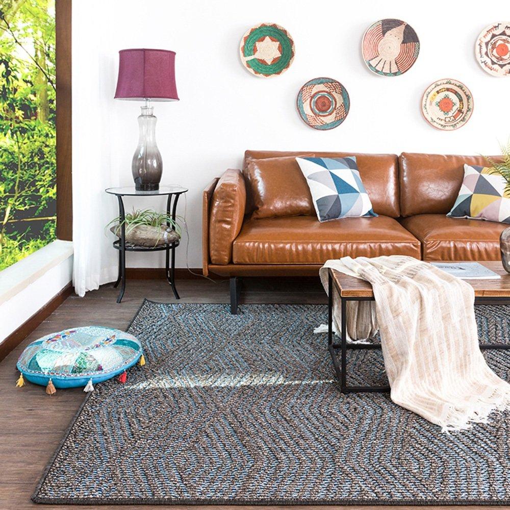 ZZHF カーペット長方形ミニマリストカーペットリビングルームソファーコーヒーテーブルカーペット3色の利用可能165 * 235cm カーペットの下敷き ( 色 : A )  A B07BKXKX8Z