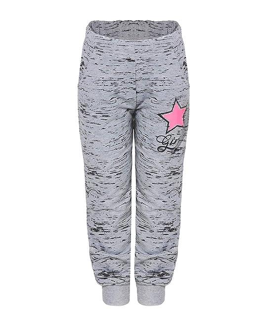 großer Verkauf beste Auswahl an offizielle Seite SEZON Mädchen Jogginghose mit Stern Sweathose Freizeithose Sporthose  Streetwear