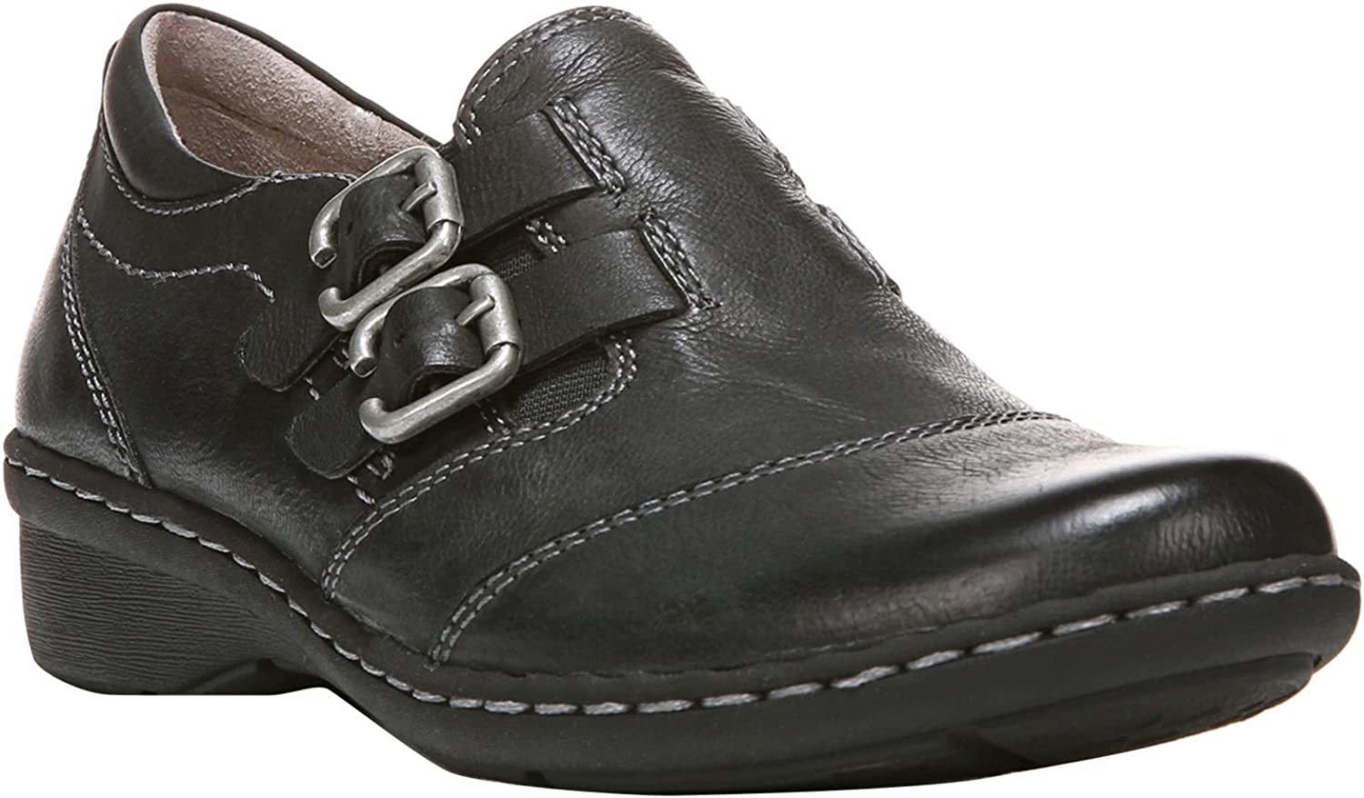 Naturalizer Womens Rapid Leather Buckle Casual Shoes
