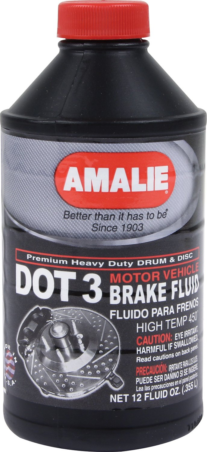 Amalie (65031-92 DOT-3 Brake Fluid - 12 oz.