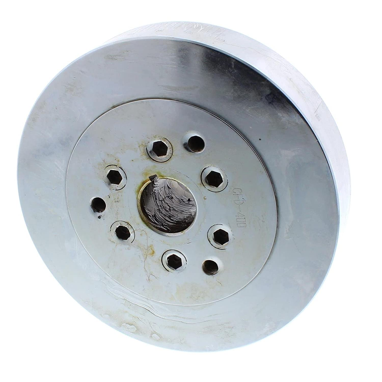 Chrome SB Chevy 400 Fluid Crank Damper 7-1//4 Inch