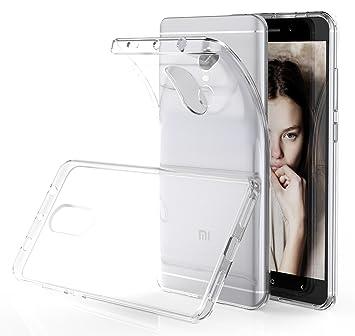 XY-shell Funda XiaoMi RedMi Note 4, Case Transparente Carcasa XiaoMi Redmi Note 4/ Note 4X Silicona TPU Premium[Crystal Clear] Funda Soft Cover y ...