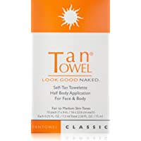 Tan Towel Self Tan Towelette Classic, 10 Count