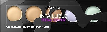Oferta amazon: L'Oréal Paris Infalible Total Cover, Paleta Correctora, Tono 01 Clara