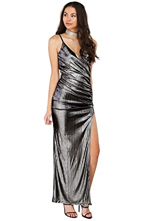 Amazon Naimo Women Glam Shiny Long Prom Banquet Evening Dresses