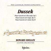 Dussek: Piano Concertos [Howard Shelley; Ulster Orchestra; Howard Shelley] [Hyperion: CDA68211]
