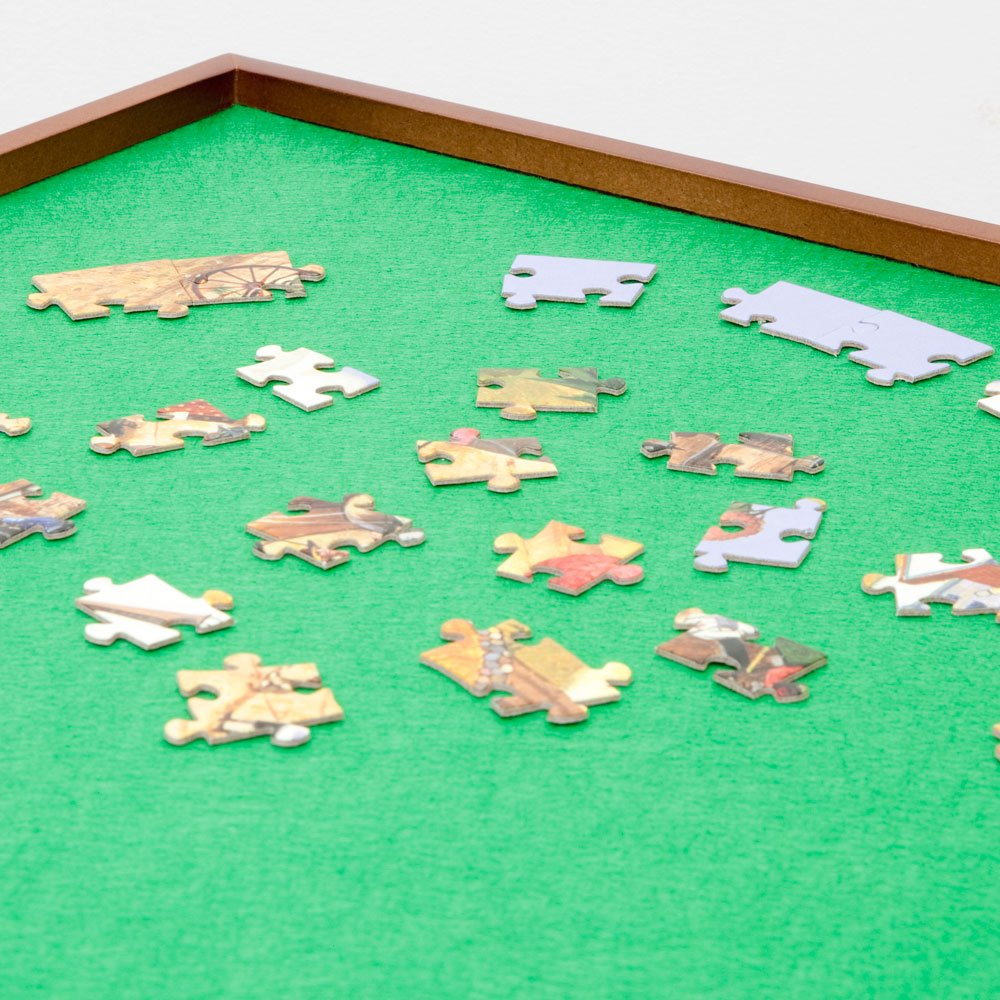 Bits and Pieces - Square Jigsaw Puzzle Spinner - Puzzle Accessories- Lazy Susan Puzzle Table Surface Fits 1500 pc Puzzles - Spin Puzzle to Reach Sections You Need by Bits and Pieces (Image #8)