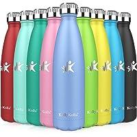 KollyKolla Vacuüm Geïsoleerde Roestvrijstalen Drinkfles, BPA-vrije Waterfles Lekvrij - 350ml Thermosfles voor Sport…