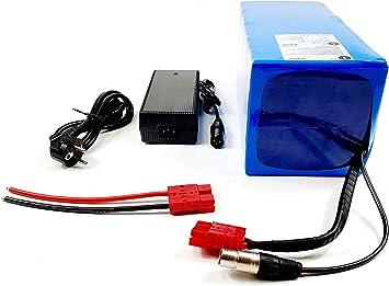 TZIPower - Batería para Bicicleta eléctrica (48 V, 40 AH, batería ...