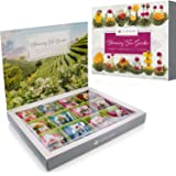 Teabloom Flowering Tea Chest - Finest Quality Blooming Tea Collection From The World's Most Beautiful Gardens - 12 Best…