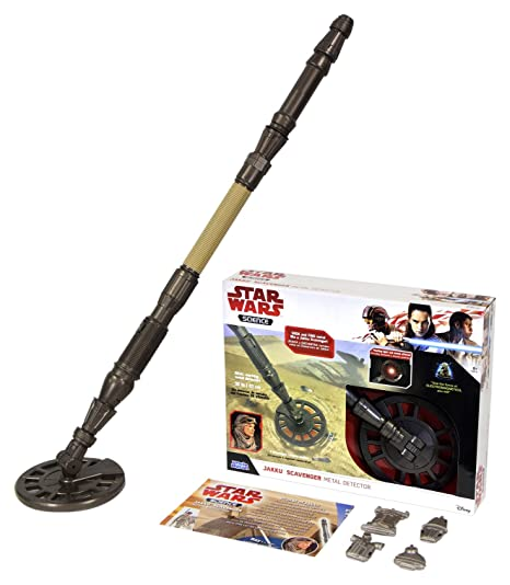 Amazon.com: Uncle Milton Basic Fun Inc Star Wars Jakku Scavenger Metal Detector: Toys & Games