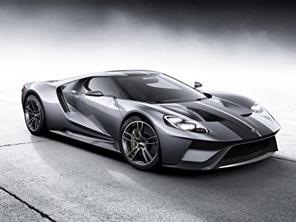 Gifts Delight Laminated X Poster Ford Gt Sports Car
