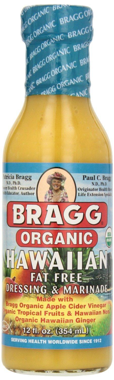 Bragg Organic Hawaiian Dressing and Marinade, 12 Fluid Ounce - 6 per case.