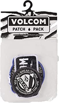 Volcom Patch Pack Assorted - Parches 3 pack: Amazon.es: Deportes y aire libre