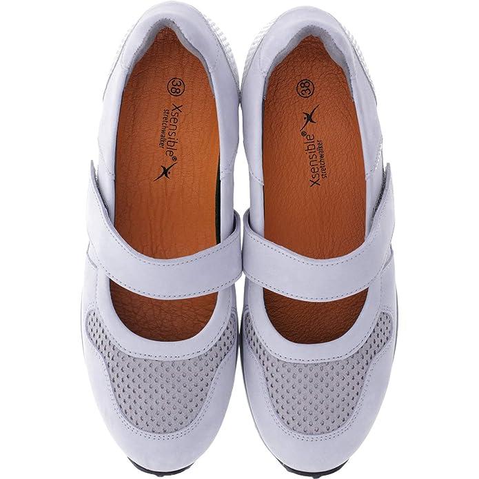 XSENSIBLE StretchwalkerModell: MonacoGrey SilverLederArt: 300471 853 Damen Ballerinas