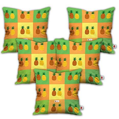buy indigifts quirky home decor pineapple fruit on colorful rh amazon in Indian Home Decor Indian Imports Home Decor