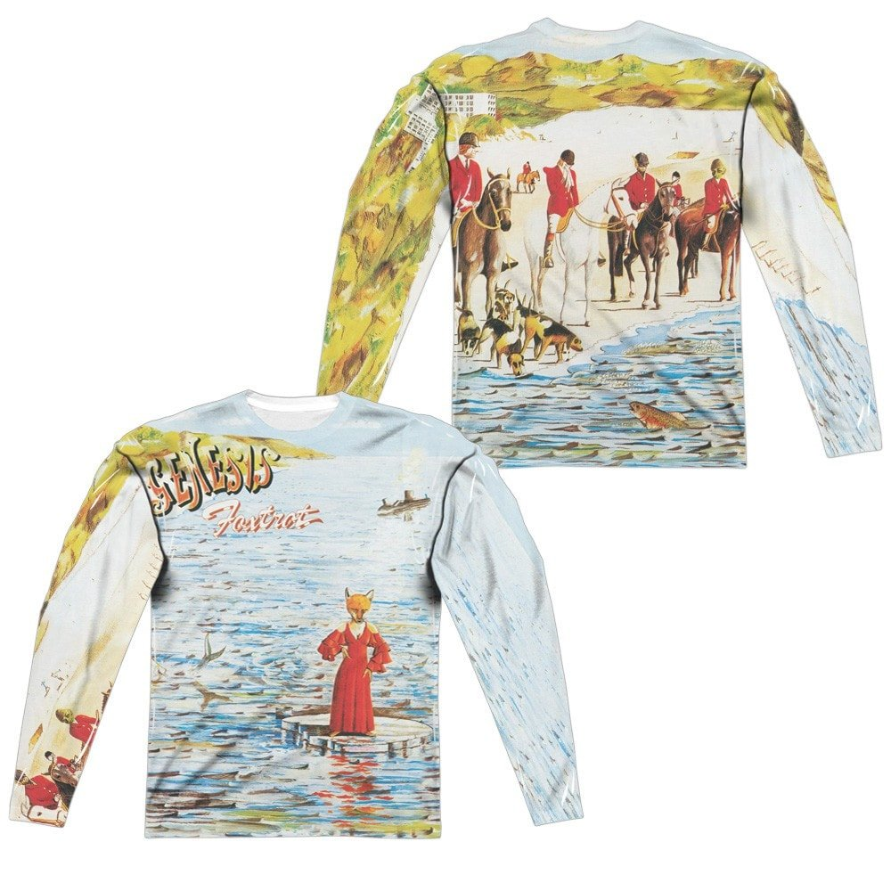 Foxtrot Cover Adult Long Sleeve T-Shirt Genesis