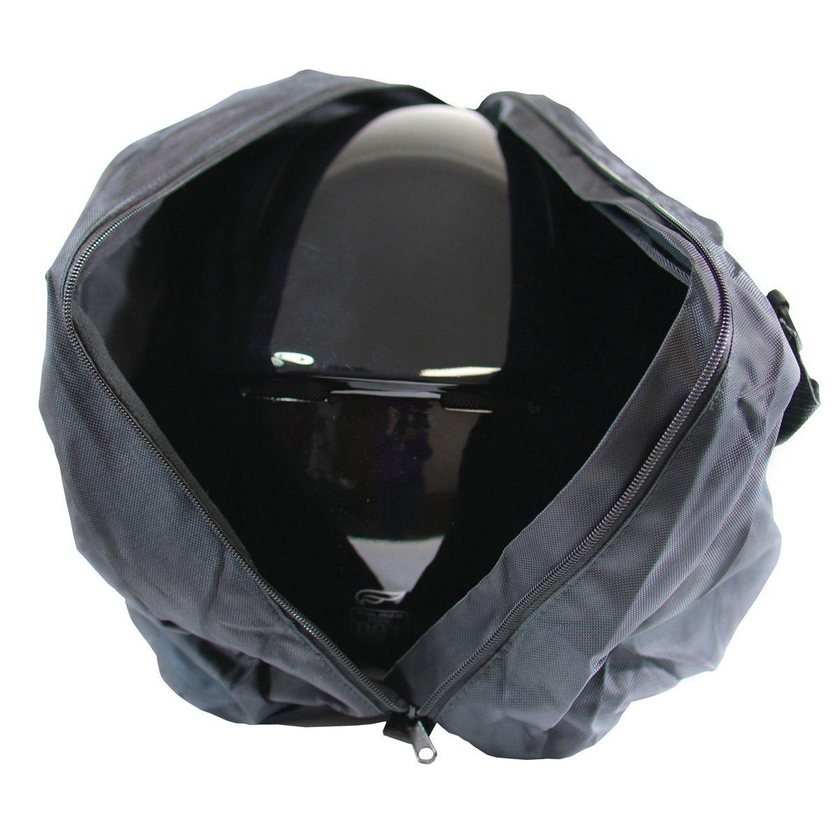 Fulmer AF-HELBAG05, Helmet Bag -Fleece Lining - Black by Fulmer (Image #4)