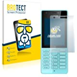 BROTECT AirGlass Flexible Glass Protector for Nokia 216 Screen Protector Glass Ultra Clear - Extra-Hard, Ultra-Light