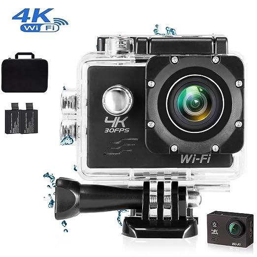 7 opinioni per Action Camera 4K Wi-Fi 16MP Full HD 1080P Camma impermeabile con sensore SONY