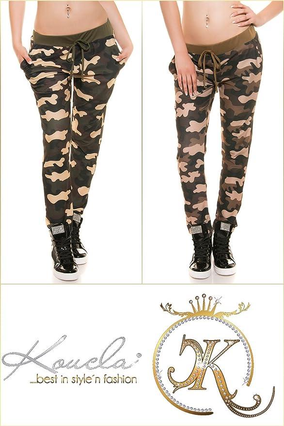 FASHION BOUTIK trendy survetement bas jogging militaire camouflage marron  femme sexy (36 38)  Amazon.fr  Vêtements et accessoires e91785b4953