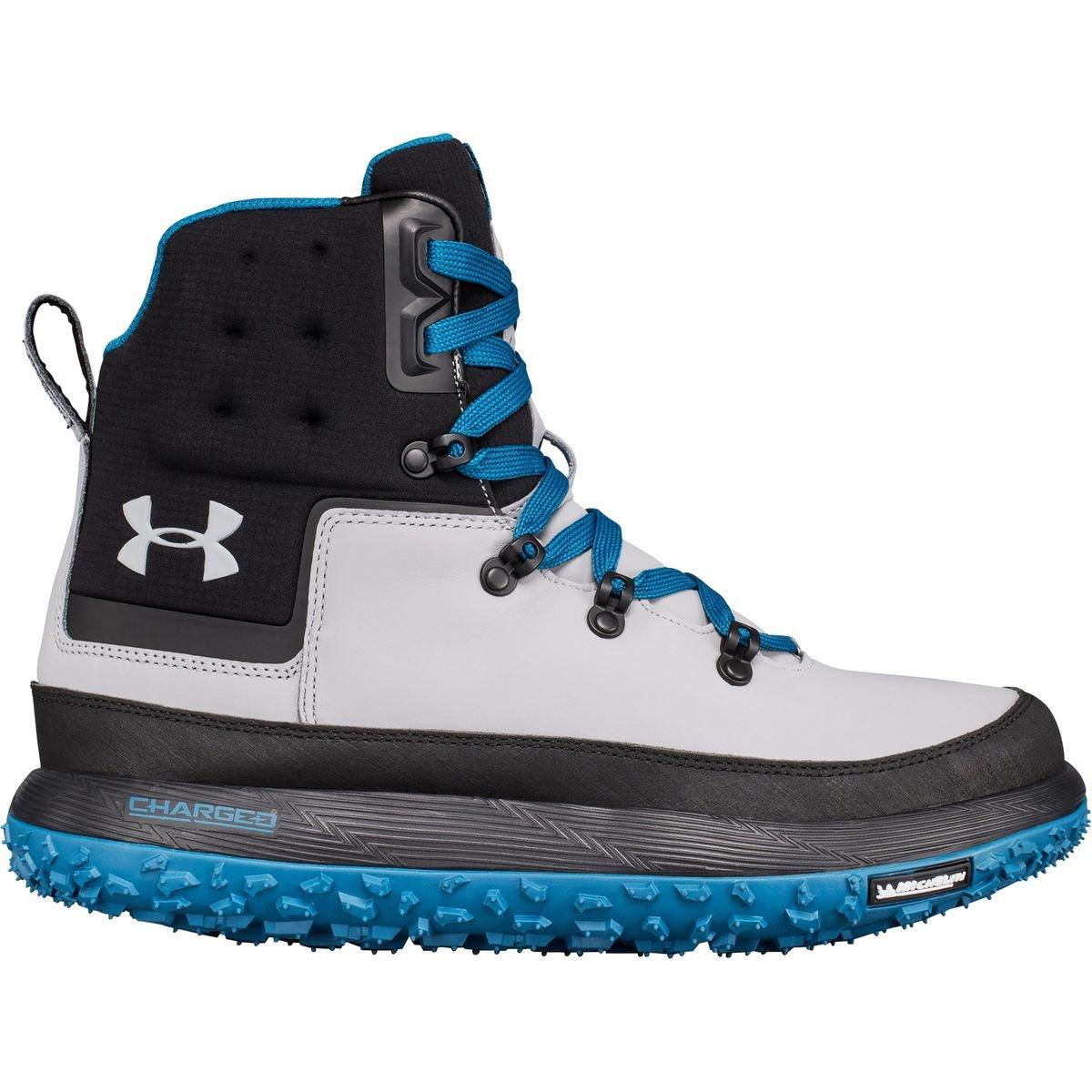 Under Armour Fat Tire Govie Winter Boot – Men's B01MZ1ZOYV 13 D(M) US Black/Overcast Gray/Overcast Gray