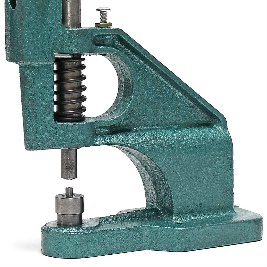 Hand Press Grommet Machine – Signstek 1500 Pcs Manual Punch Kit Grommet Tool with 3 Die Kit (#0, 2, 4)