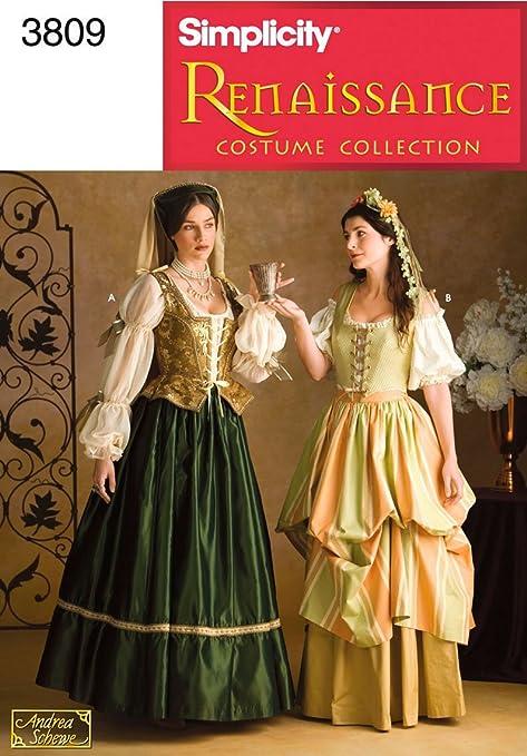 Renaissance Dress Patterns