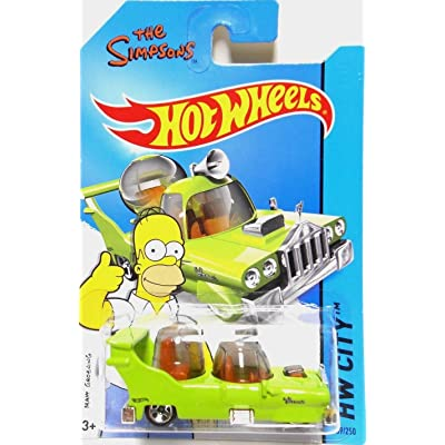2014 Hot Wheels Hw City the Simpsons - the Homer: Toys & Games