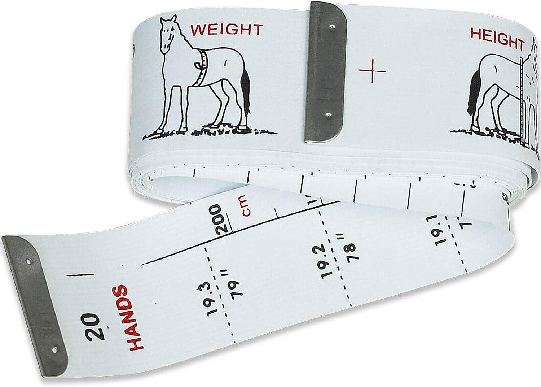 easy-measure altura y peso cinta. Caballo de medición de peso banda
