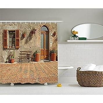 Yeuss Dekoration Facade Holz Italienisches Design Toskana Klein
