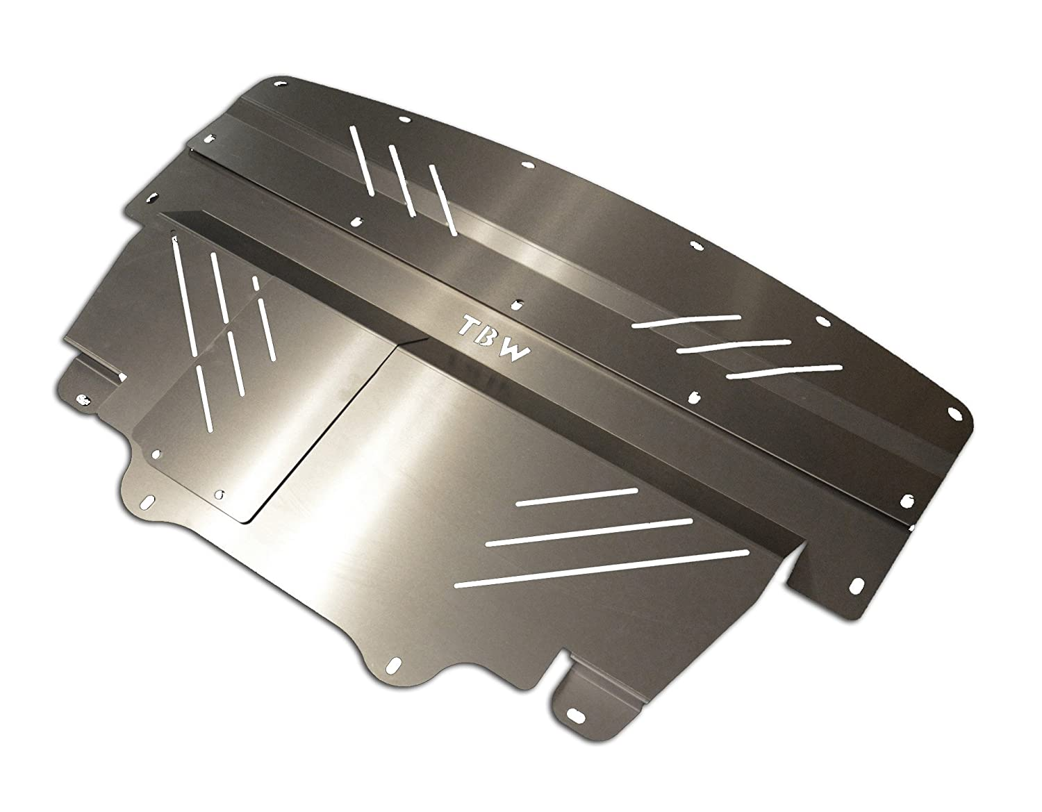 SILVER TBW Aluminum Under Tray for AWD Infiniti G37X Engine Skid Plate TBW Performance