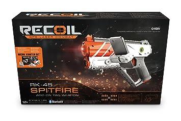 Recoil - Pistola Spitfire RK45, Juego de Pistolas Laser por GPS (90517): Amazon.es: Juguetes y juegos