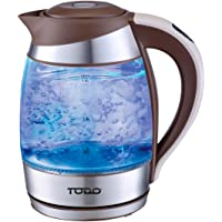 TODO Automatic Keep Warm 1.8L Glass Cordless Kettle with Temperature Control (Coffee)