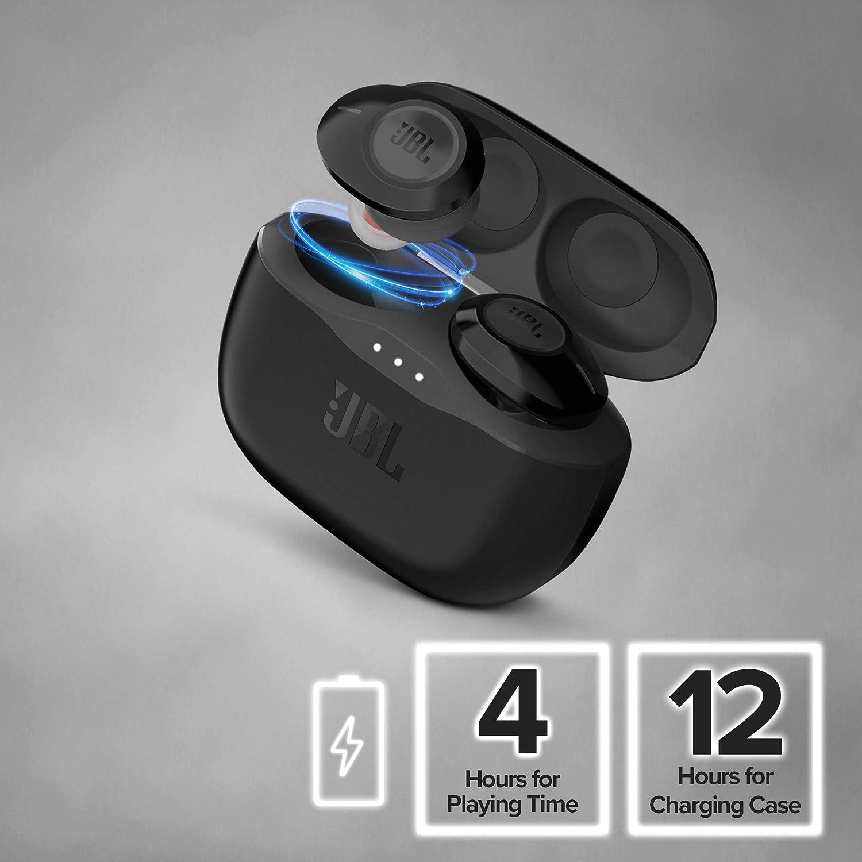 JBL Tune 120 TWS Truly Wireless In-Ear Headphones Black