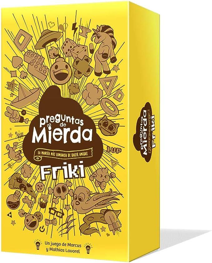 Edge Entertainment- Preguntas de Mierda Friki, Color (EELDCQ02): Amazon.es: Juguetes y juegos