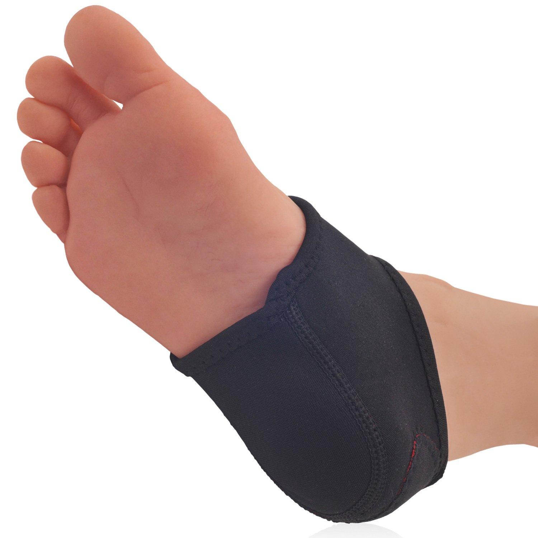Dr. Frederick's Original Neoprene Heel Guard Set - 2 Pieces - Heel Protectors - Relieve Heel Pain from Plantar Fasciitis - Heel Spur - Cracked Heels