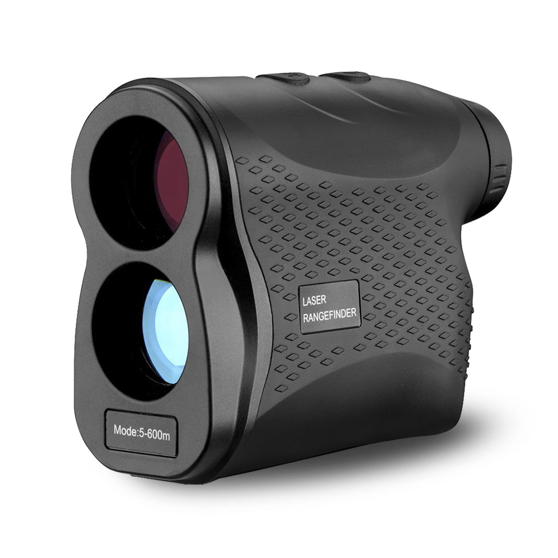 AIKOTOO Golf Rangefinder, 600 Yards Range Finder with Golf for Distance Speed Measurement, Golf Range finder