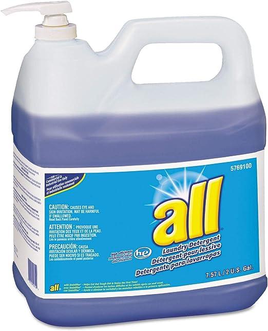 all Todo lo Que detergente líquido, Original Scent, Botella de 2 ...