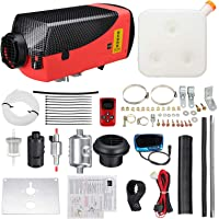 All in 1 12V 8KW Diesel Parking Air Heater LCD + Silencer + Remote Control Kit
