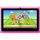 """Google Android 7"""" Tablet PC featuring CBeeBies StoryTime (Pink)"""