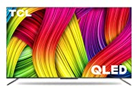 TCL 125.7 cm (50 inches) 4K Ultra HD Certified Android Smart QLED TV 50C715 (Metallic Black) (2020 Model)