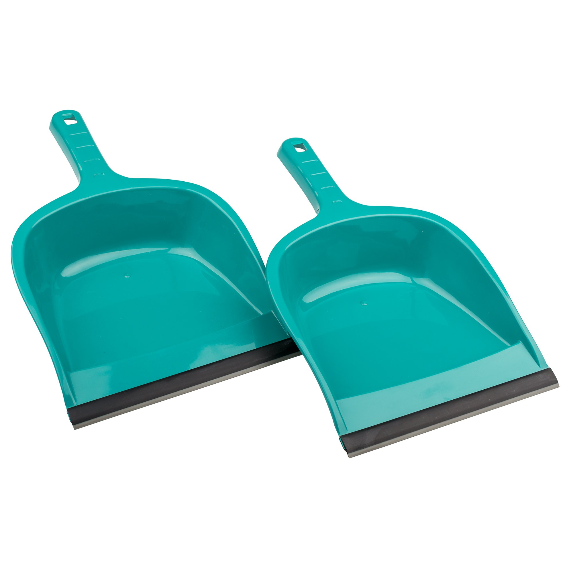 Plastic dust pan, Large dust pan, Heavy duty dust pan (pack of 2)