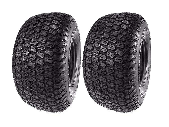 (2) Kenda 16x6.50-8 Super Turf 4 Ply Tires K500 16x6.50x6 16x650-8 16x650x8