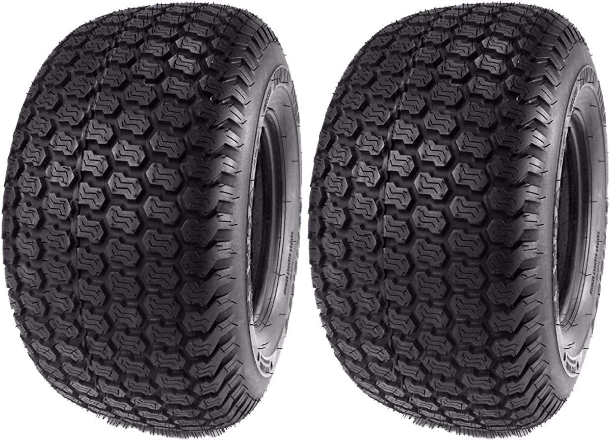 Set of 2 AirLoc P332 Lawn and Garden Tires 15x600-6  4 Ply NEW 15x6.00-6