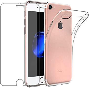 custodia in silicone trasparente per iphone 6s