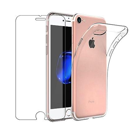Funda iPhone 6, Leathlux Carcasa Transparente TPU Silicona ...