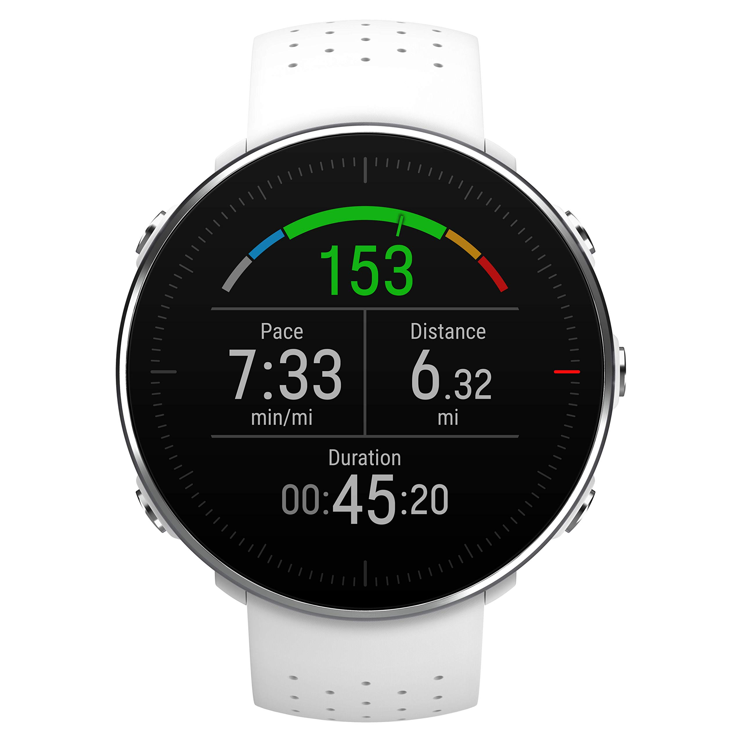 POLAR VANTAGE M –Advanced Running & Multisport Watch with GPS and Wrist-based Heart Rate (Lightweight Design & Latest Technology), White, M-L by Polar (Image #8)