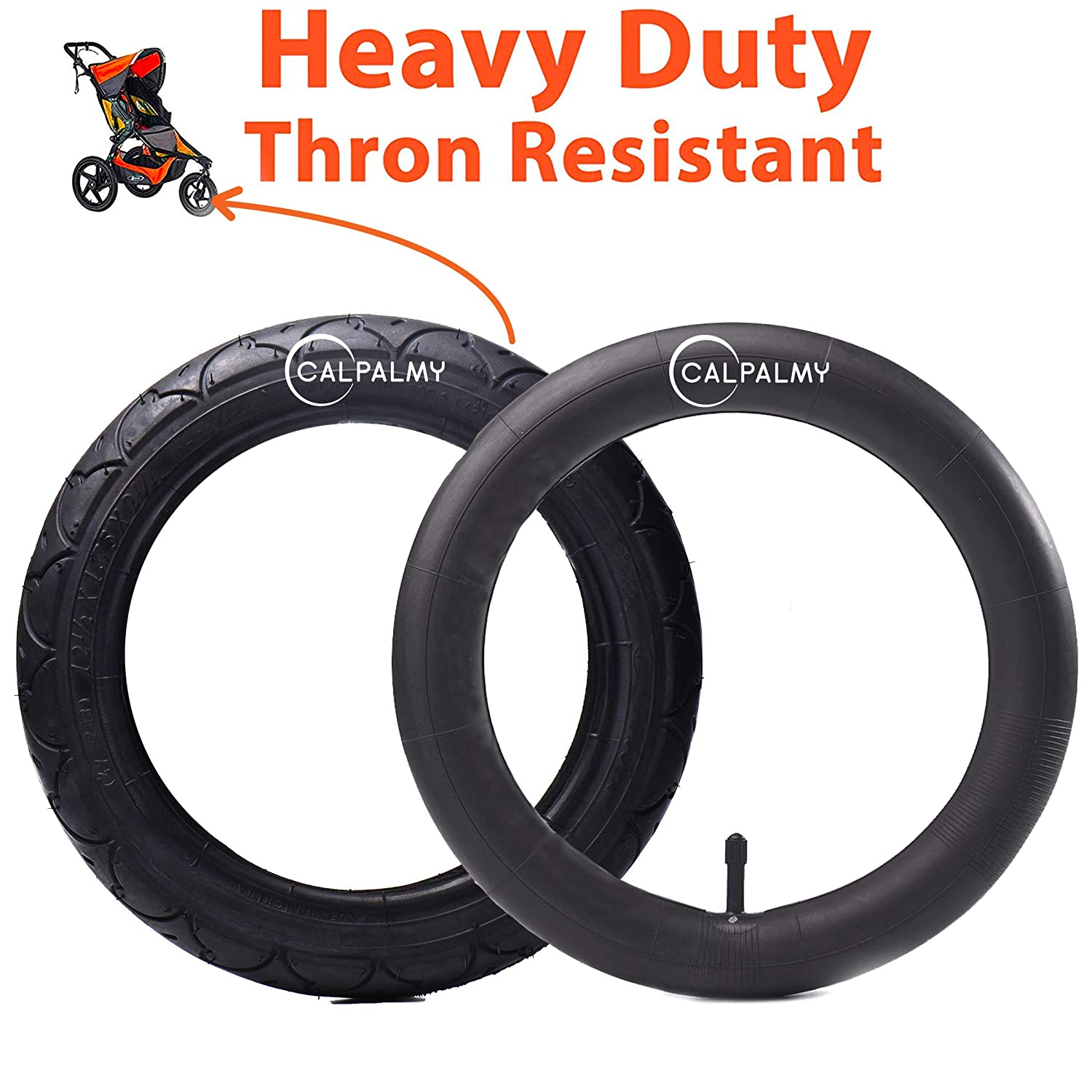 12.5'' Front Wheel Replacement Tire and Tube for BoB Revolution SE/Pro/Flex - Made from BPA/Latex Free Premium Quality Butyl Rubber 71BHwW38yOL